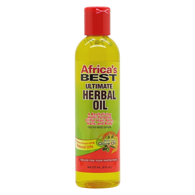 Africa's Best Organics Ultimate Herbal Oil 237ml