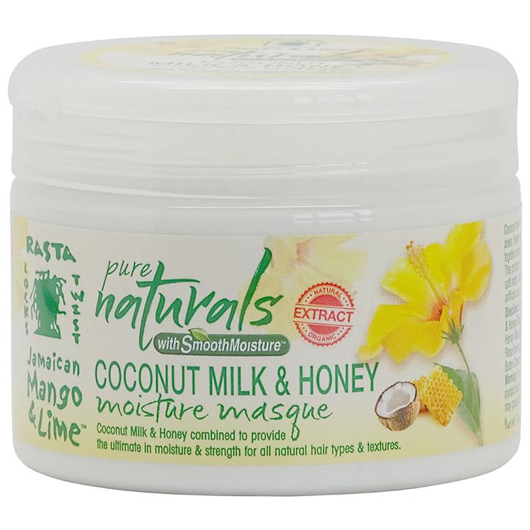 Jamaican Mango & Lime Pure Naturals Coconut Milk & Honey Moisture Masque 355ml