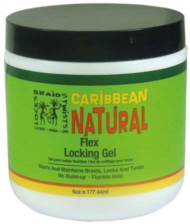Caribbean Natural Flex Locking Gel 177ml