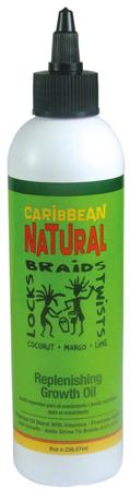 Caribbean Natural Replenshing Growth Oil 236ml