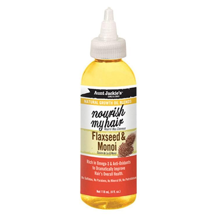 Aunt Jackie's Growth Oil nourish my hair Flaxseed & Monoi 118ml