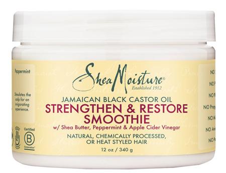 Shea Moisture JAMAICAN BLACK CASTOR OIL STRENGTHEN & RESTORE SMOOTHIE 340 g