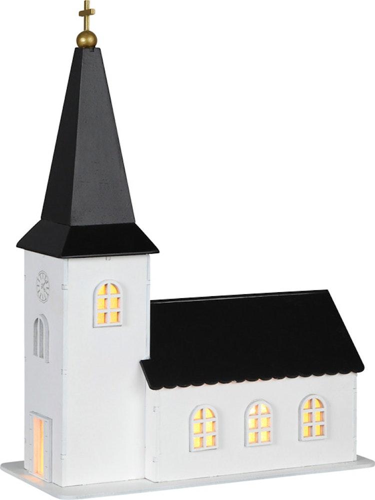 Julkyrka - finns i Kristna designbutiken.
