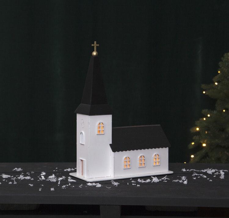 Dekoration kyrka - finns i Kristna designbutiken.