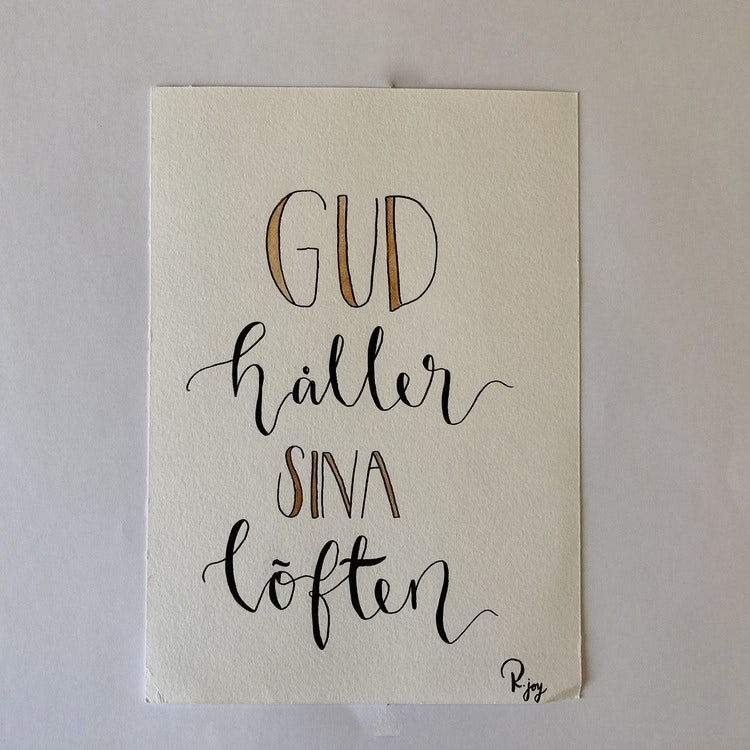 Kristna textade bilder om kärlek (välj mellan sju olika)