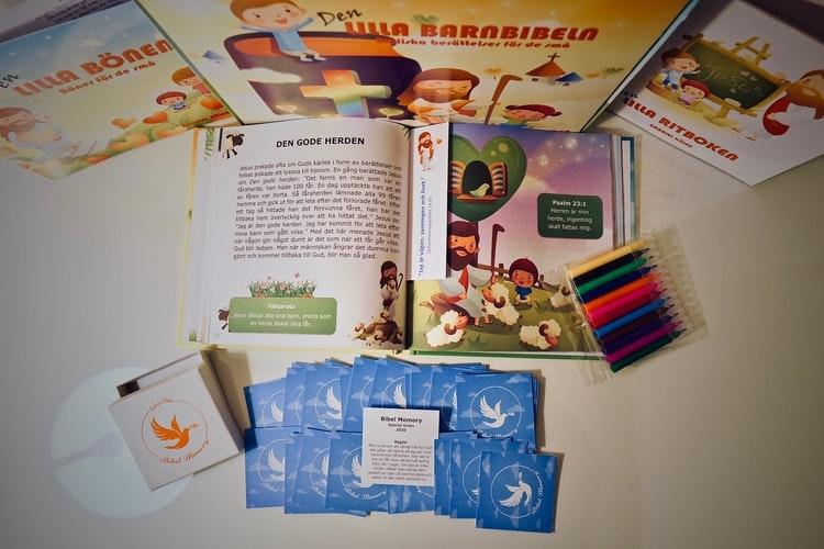 Barnbibelpaket - finns i Kristna designbutiken