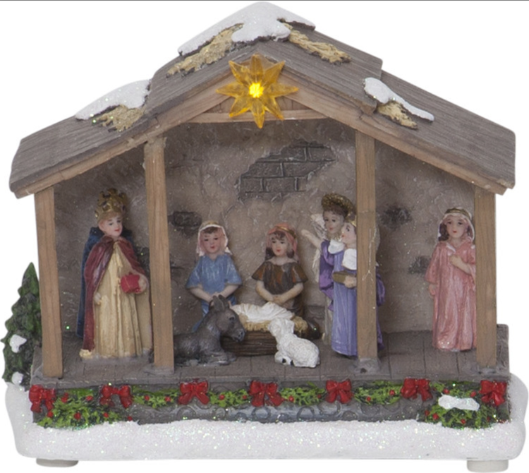 Julkrubba - finns i Kristna designbutiken.