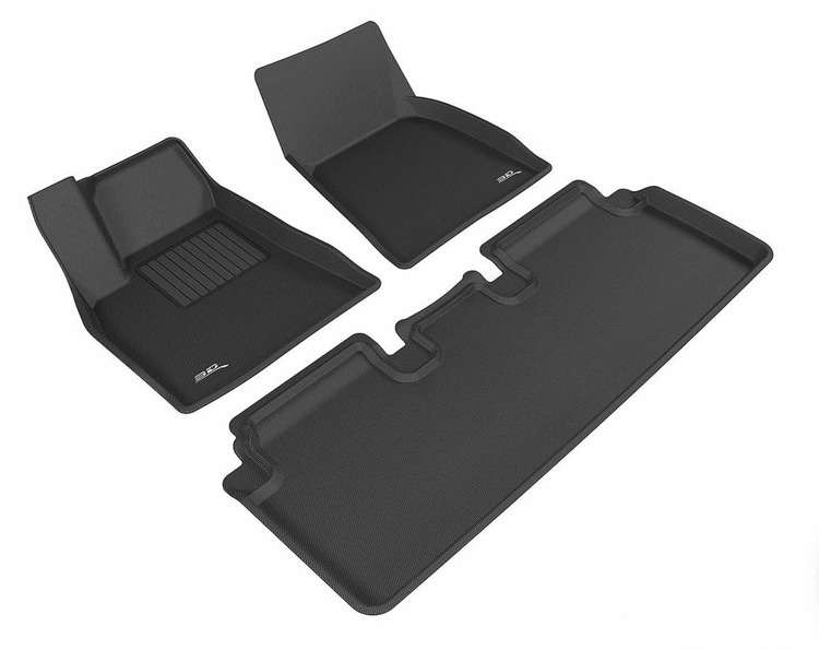 Mats for Model S (3D MAXpider) (Finland)