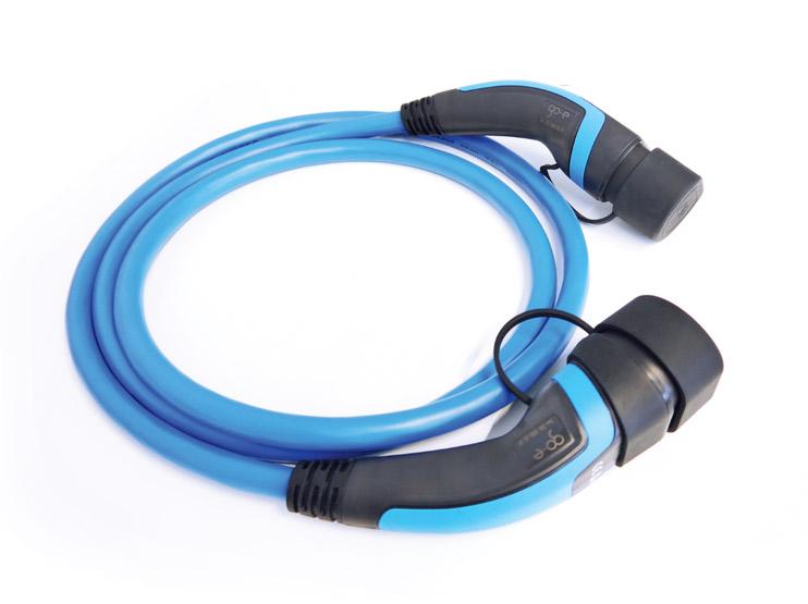 Type 2 kabel 5m 22kW 3-fas