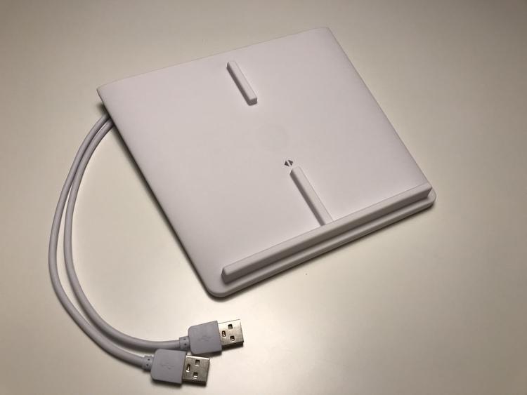 Trådlös (QI) mobiltelefonladdare för Model 3 (vit)