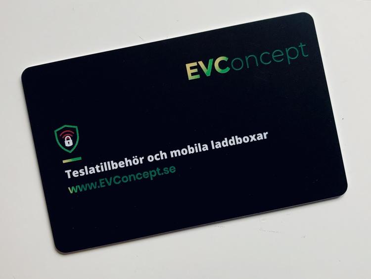 Signalblockeringskort (RFID)