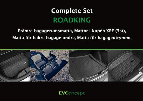 """Mattpaket """"RoadKing"""" passar ej uppdaterat främre bagage"""