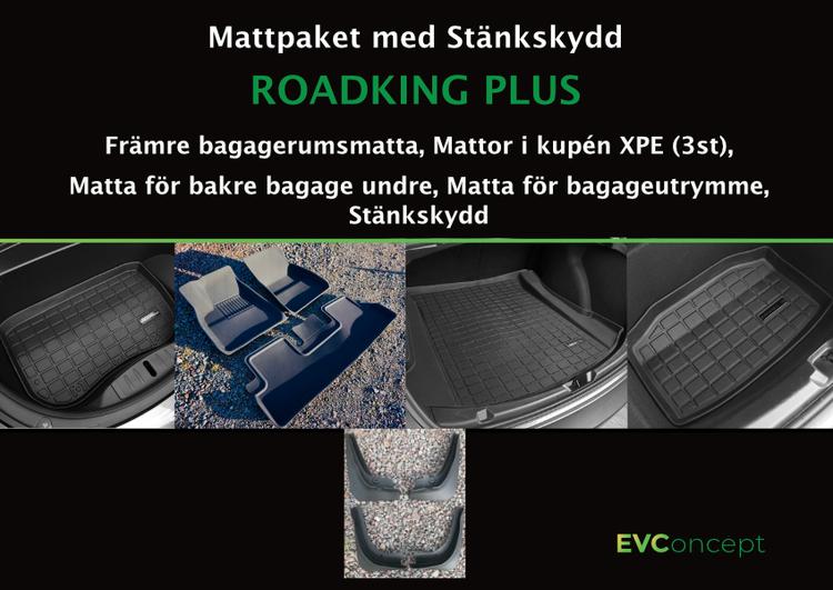 """Mattpaket """"RoadKing Plus"""" (inkl stänkskydd) Passar ej uppdaterat främre bagage"""