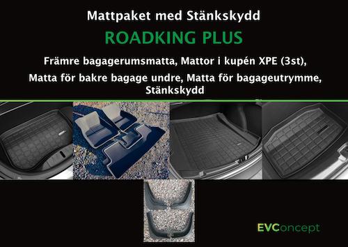 "Mattpaket ""RoadKing Plus"" (inkl stänkskydd)"