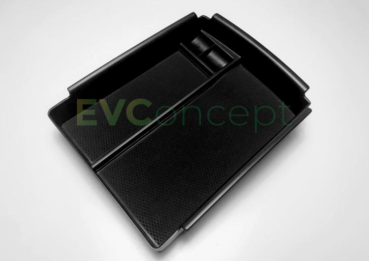 Trådlös (QI) mobiltelefonladdare med fack för Model S