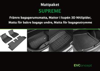 """Mattpaket """"Supreme"""" Passar ej uppdaterat främre bagage"""
