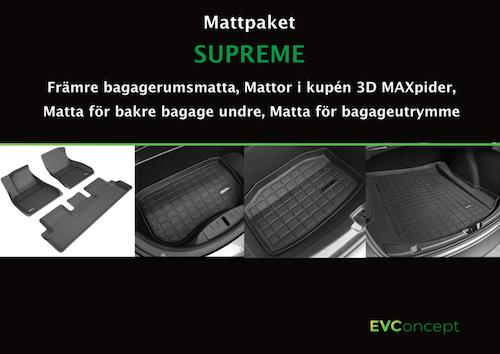 "Mattpaket ""Supreme"""