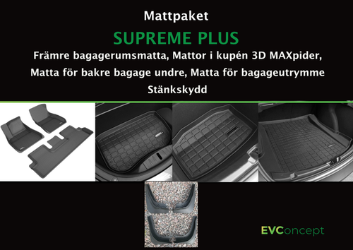"Mattpaket ""Supreme Plus"" (inkl stänkskydd)"