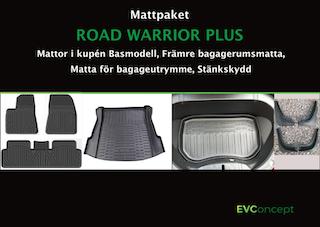 """Mattpaket """"RoadWarrior Plus"""" (inkl stänkskydd) Passar ej uppdaterat främre bagage"""