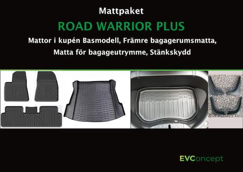 "Mattpaket ""RoadWarrior Plus"" (inkl stänkskydd)"