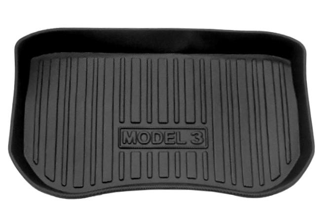 Bagagerumsmatta uppdaterad främre Model 3