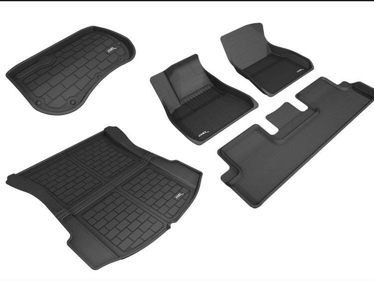 "Mattpaket ""MaXXed Out"" för Model 3 (3D MAXpider) 2021+"
