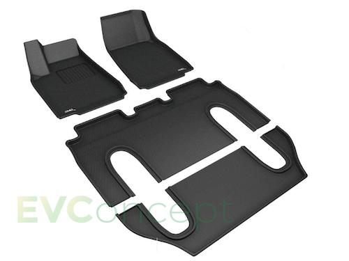 3D MAXpider Mattor för Model X 5-sits