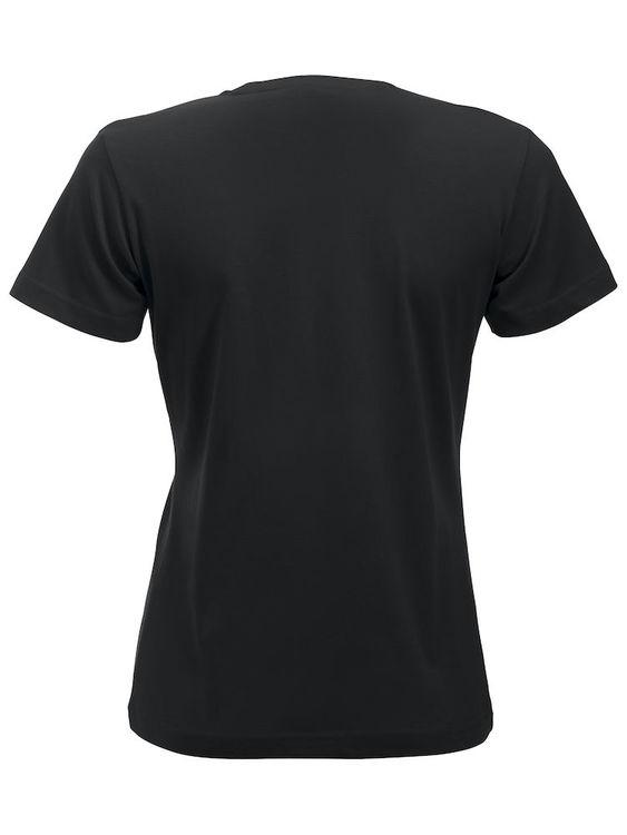 T-shirt Svart Dam