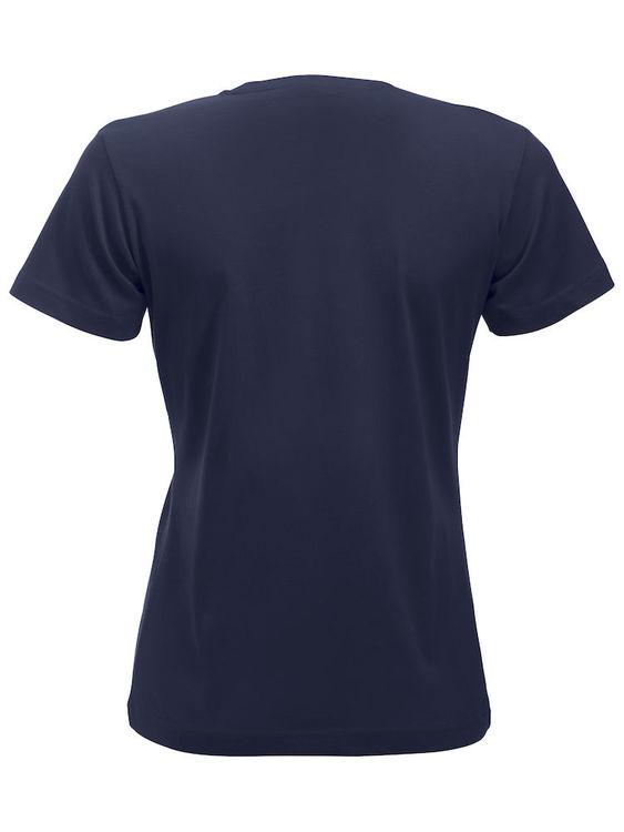 T-shirt Marinblå Dam