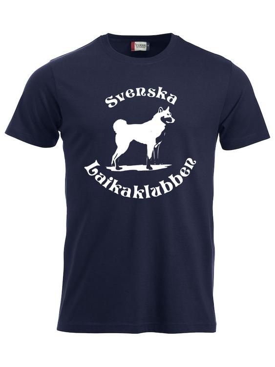 T-shirt Marinblå Herr