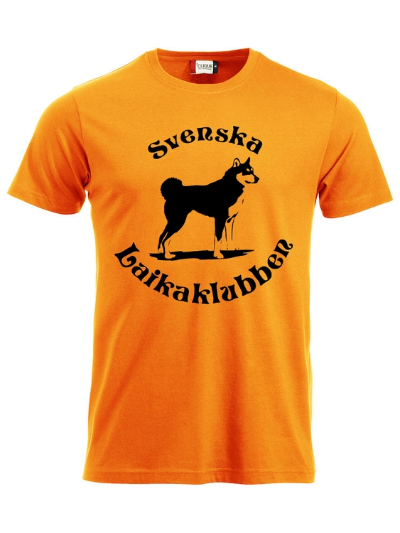 T-shirt Orange Herr