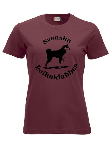 T-shirt Bordeaux Dam