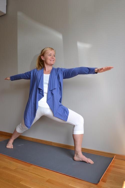 stretchiga bambutights för träning och yoga