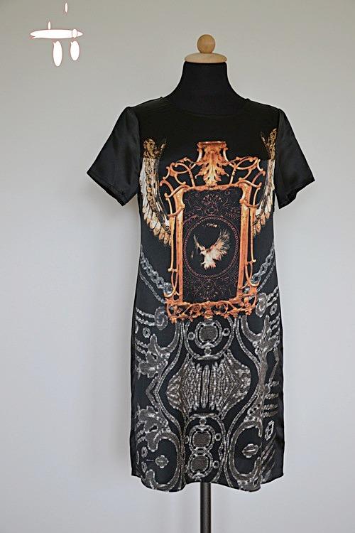 00ecc58041d7 Sidenklänning med häftigt mönster - Bambukläder hos PURA of Sweden