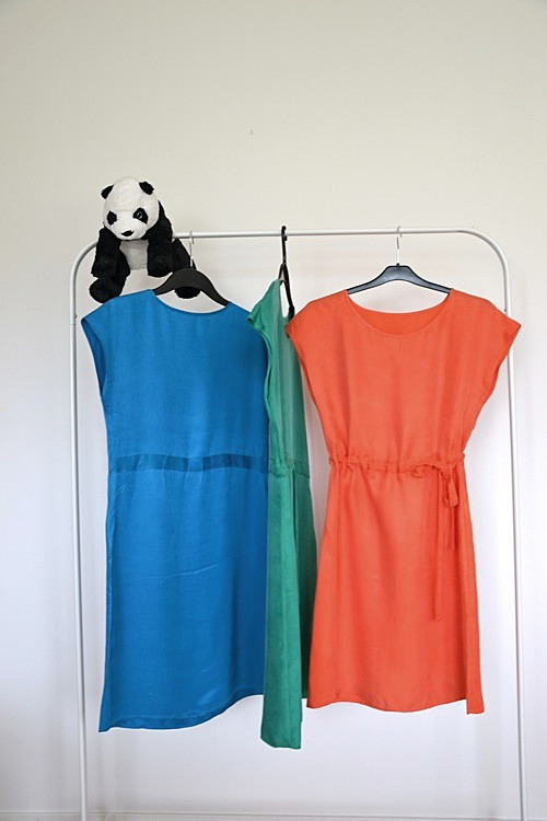 Figurvänlig sidenklänning - Bambukläder hos PURA of Sweden f312a09a62fce