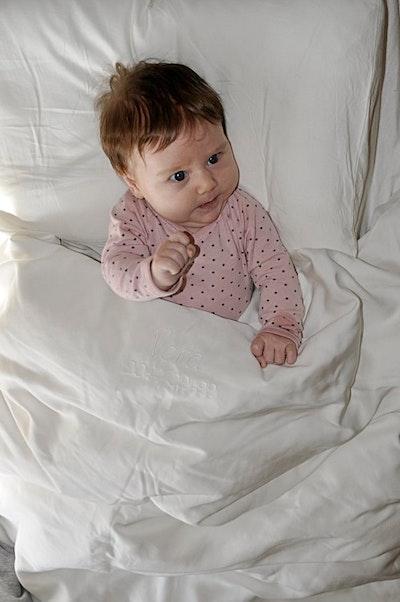 Bambupåslakan för baby