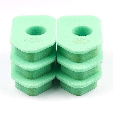 Skumgummifilter 6-pack. 4107