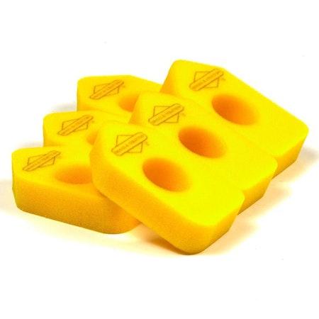Skumgummifilter 6-pack. 4216