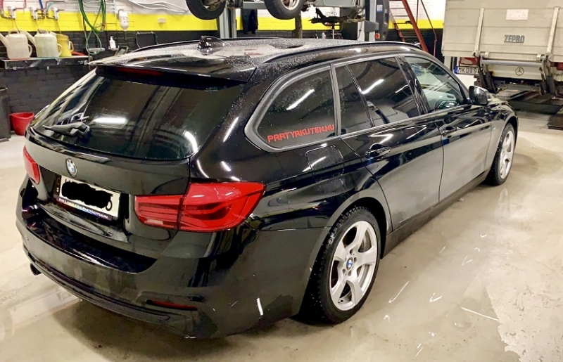 BMW 3-serie Touring F31 med solfilm