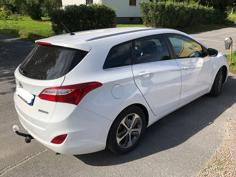 Hyundai i30 med solfilm