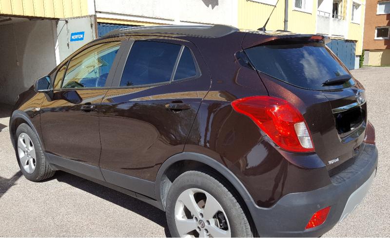 Opel Mokka med solfilm