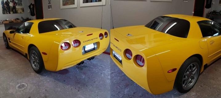 Corvette FRC med solfilm