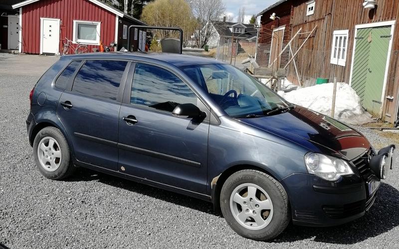 VW Polo med solfilm