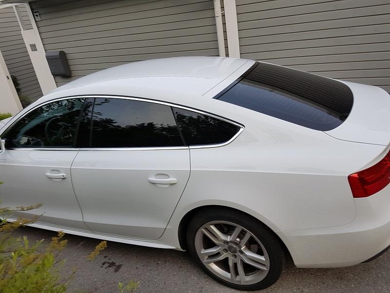 Audi A5 Sportback med solfilm