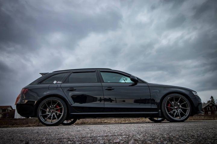 Grym Audi A4 Avant B8 tonad med EVOFILM!