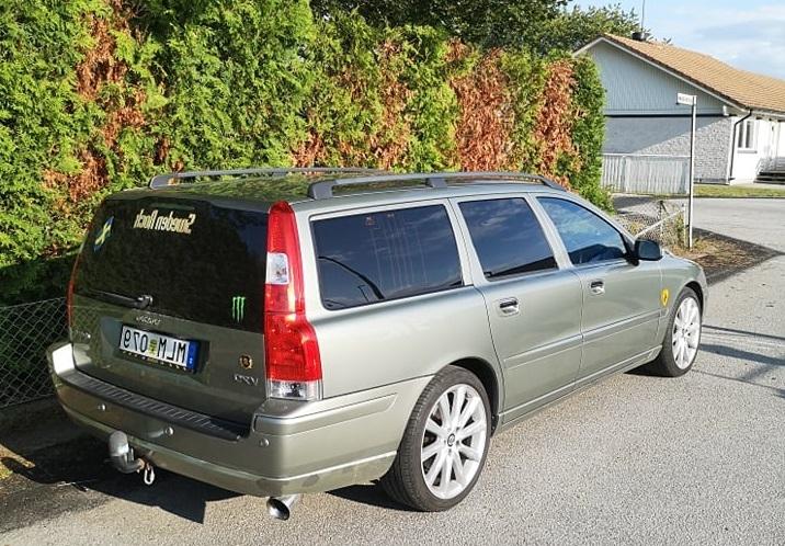 Volvo V70 med tonande rutor