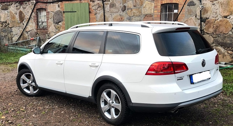 VW Passat kombi med 95% film