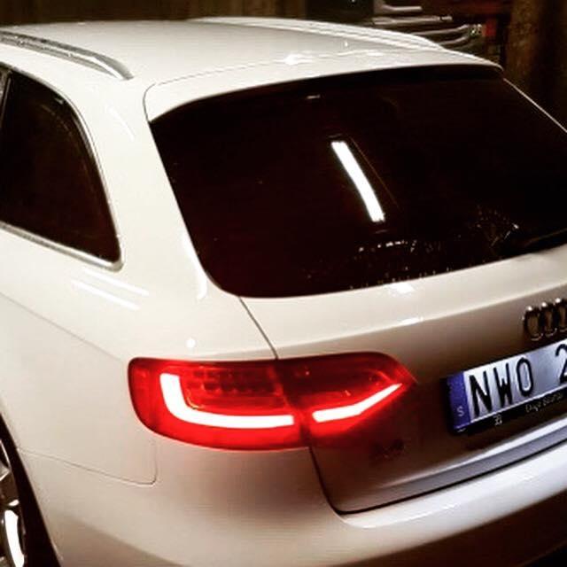Audi A4 Avant med tonade rutor