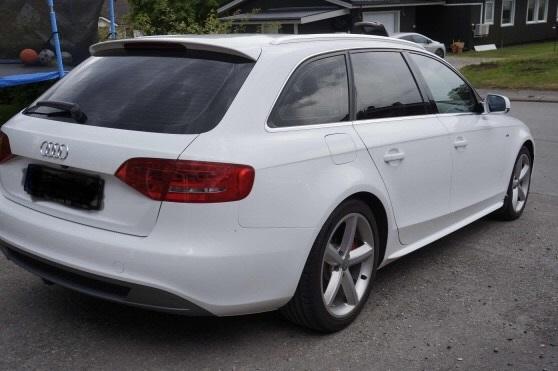 Audi A4 Avant med solfilm