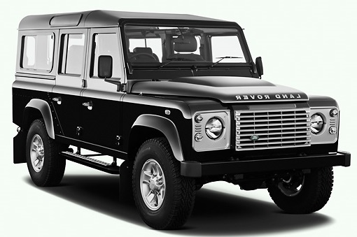 Solfilm till Land Rover Defender 110. Solfilm till alla Land Rover bilar från EVOFILM®.